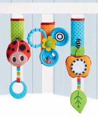 TINY LOVE - Sada hračiek na kočík a postieľkuCrib & Stroller Sleeves