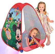 TREFL - Detský stan Mickey Mouse s priehľadnými stenami