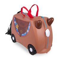 TRUNKI - Cestovný kufrík - Bronco - Kovboj