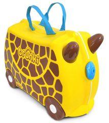 TRUNKI - Cestovný kufrík TRUNKI - Žirafa