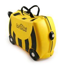 TRUNKI - Cestovný kufrík Včielka