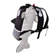 TRUNKI - Nepremokavý ruksak - Kosatka (čierny 10L)