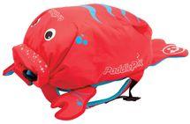 TRUNKI - Nepremokavý ruksak - Morský rak (červený 7.5L)