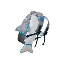 TRUNKI - Nepremokavý ruksak - Žralok (šedý 10L)