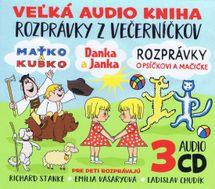 3CD BOX Veľká audio kniha - Rozprávky z večerníčkov