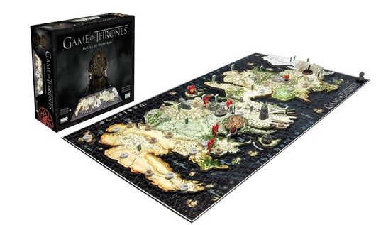 4D CITYSCAPE - 4D Puzzle - Hra o Tróny (Game of Thrones) Westeros