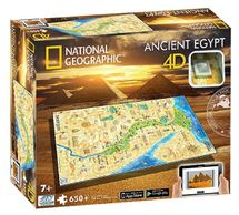 4D CITYSCAPE - 4D Puzzle National Geographic Staroveký Egypt