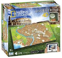 4D CITYSCAPE - 4D Puzzle National Geographic Staroveký Rím