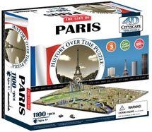 4D CITYSCAPE - 4D Puzzle Time panorama Paríž