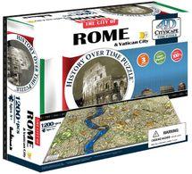 4D CITYSCAPE - 4D Puzzle Time panorama Rím