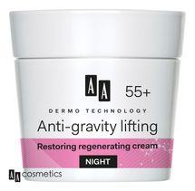 AA - Dermo Technology 55+ Obnovujúci a regeneračný NOČNÝ KRÉM s kolagénom a argánovým olejom 50ml