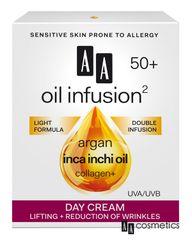 AA - Oil Infusion Denný liftingový a spevňujúci krém 50+ 50ml