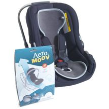 AEROSLEEP - Vložka do autosedačky 0-13 kg AeroMoov - antracit