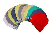 ANTONY FASHION - Bavlnená čiapočka - veľkosť: 2 (červená)