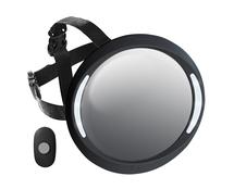 APRAMO - Spätné zrkadlo do auta Iris Deluxe Black