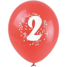 ARPEX - Balóniky nafukovacie - s číslom 2