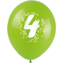ARPEX - Balóniky nafukovacie - s číslom 4