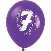ARPEX - Balóniky nafukovacie - s číslom 7