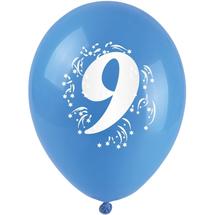 ARPEX - Balóniky nafukovacie - s číslom 9