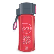 ARSUNA - Fľaša plastová 450 ml - červená
