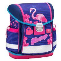 ARSUNA - Školská taška Flamingo