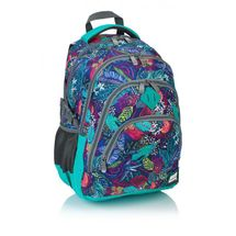 ASTRA - Študentský batoh Head HD-107 farebné listy