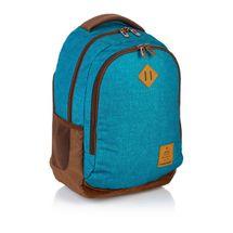 ASTRA - Študentský batoh Head HD-56 modrohnedé