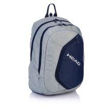 ASTRA - Študentský batoh Head HD-65 šedomodrý 55ff26d066