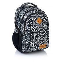 ASTRA - Študentský batoh Head HD-74 čiernobiely