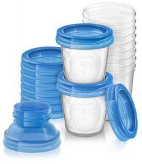 AVENT - VIA zásobníky na materské mlieko 10 ks