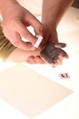 BABY DAB - Farba na detské odtlačky - fialová