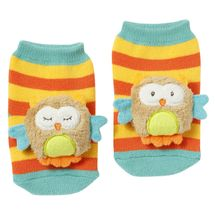 BABY FEHN - Forest hrkajúce ponožky sova