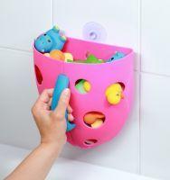 BABY ONO - Box na hračky do vane - Ružová