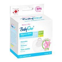 BABY ONO - Silikónová ochrana prsných bradaviek - S