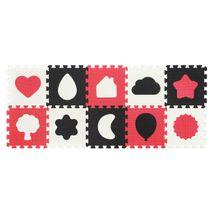 BABYONO - Penové puzzle - Tvary- 10 ks 395/01