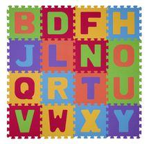 BABYONO - Puzzle penové písmená 16ks, 6m+