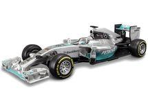 BBURAGO - Bburago Mercedes Amg Petronas F1 W05 Hybrid Lewis Hamilton 1:32