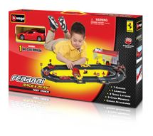 BBURAGO - Ferrari Test Track - Testovacia dráha s jedným autíčkom