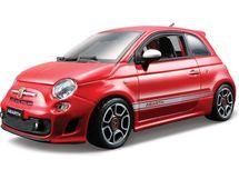 BBURAGO - Fiat 500 Abarth 1:24