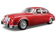 BBURAGO - Jaguar Mark II rok výroby 1959 1:18 Gold