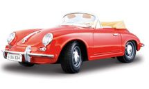 BBURAGO - Porsche 356 B Cabriolet 1:24