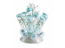 BEABA - Odkvapkávač kojeneckých fľašiek sivá/modrá