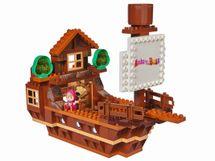 BIG - PlayBig Bloxx Máša a medveď Mišova loď