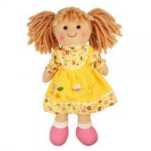 BIGJIGS - Látková bábika DOMINIKA, 27cm
