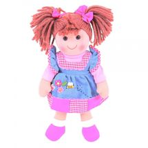 BIGJIGS - Látková bábika MARLENKA, 30cm