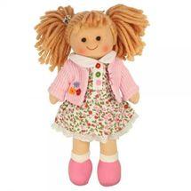 BIGJIGS - Látková bábika PAULINA, 27cm