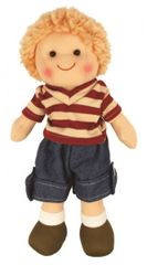 BIGJIGS - Látková bábika Tomáško, 27cm