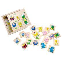 Bino - 84167 Pexeso zvieratká v krabičke