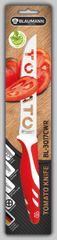 BLAUMANN - Nôž na paradajky čepeľ 12,5 cm červený,BL-3017CWR