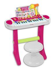 BONTEMPI - Detské elektronické piano so stoličkou a mikrofónom 133672